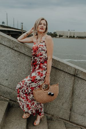 Romantic summer outfit
